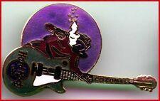 Hard Rock Cafe COZUMEL 2001 SCUBA DIVER in WATER w/Green GUITAR PIN - HRC #2084