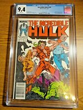 Incredible Hulk #330 Rare Newsstand Key CGC 9.4 NM 1st Todd McFarlane Art Marvel