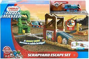Thomas-Friends-TrackMaster-Motorized-Railway-Scrapyard-Escape-Playset ~NEW~