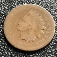 1872 Indian Head Cent 1c Circulated #21619