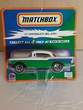 Matchbox Taco Bell '57 Chevrolet Bel Air Nice  !!