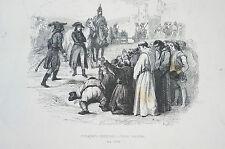 Druck Buchseite Bonaparte pardonne a Pavie revoltee Mallet (N142)