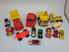 Lot of 14 vintage toy cars & trucks buddy-l/tonka/maisto/hot wheels