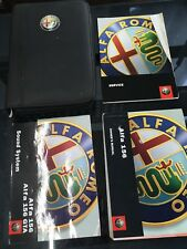 Alfa romeo 156 2001 Owners Guide And Wallet Pack