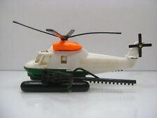 Diecast Matchbox Super Kings K-92 Helicopter 1982 in White Good Condition