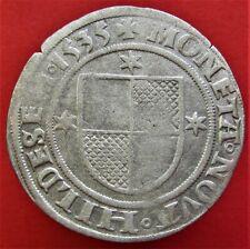 Silver Medieval Coin German States HILDESHEIM Mariengroschen 1535