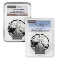 Sale Price - 1 oz Proof Silver American Eagle NGC/PCGS PF 69 (Random Year)
