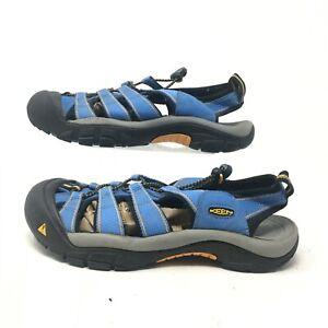 Keen Newport H2 Hiking Sandals Slingback Fisherman Waterproof Shoe Blue Mens 10