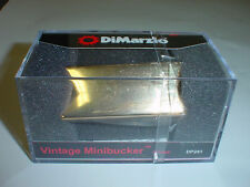 DIMARZIO DP241 Vintage Minibucker Bridge Guitar Pickup - GOLD