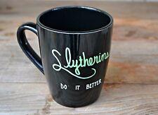 Slytherin Mug - Harry Potter Mug - Hogwarts Mug - Hogwarts Coffee Cup House