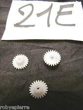 Ingranaggi ingranaggio pezzi di ricambio modellismo meccanismi in plastica 21E