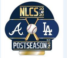 2020 NATIONAL LEAGUE CHAMPIONSHIP SERIES NLCS PIN ATLANTA BRAVES VS. L.A.DODGERS