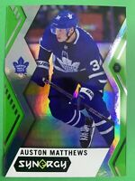 2017-18 Upper Deck Synergy GREEN #30 Auston Matthews Toronto Maple Leafs
