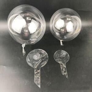 10pcs 10inch Bobo Ball Jumbo Latex Clear Round Balloons Birthday Party Decor