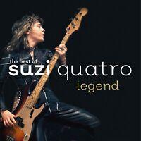 SUZI QUATRO - LEGEND D/Remaster CD ~ BEST~HITS ~ 48 CRASH~CAN THE CAN 70's *NEW*