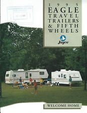 Travel Trailer Brochure - Jayco - Eagle SL series - Fifth Wheels - 1995 (MH80)