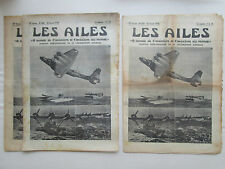 AILES 1938 866 DORNIER DO-24 FARMAN 223 CONSOLIDATED PBY CLIPPER PAN AM HELICE