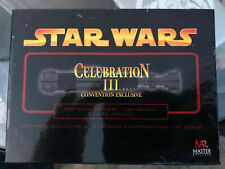 Star Wars Master Replicas Obi-Wan Kenobi Lightsaber .45 Scale SW-323 Dark Chrome