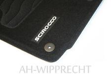 Fußmatten Satz Original VW Scirocco 4x Stoffmatten Autoteppich Tuning schwarz