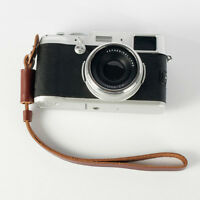 Brown Camera Strap Wrist Hand Strap Leather Lanyard for Sony Camera Nikon DSLR