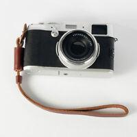 Brown Camera Strap Wrist Hand Strap Leather Lanyard for Sony Camera Nikon DSLR