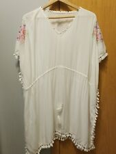 Women's Embroidered Lace Swim Cover Up Merona Size L/XL