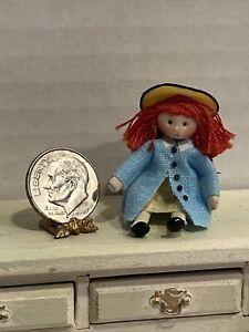 Vintage Artisan ANN ANDERSON Madeline Doll Childs Room Dollhouse Miniature 1:12