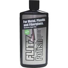 Liquid Flitz Metal Polish Fiberglass Stainless Paint Restorer 3.4oz LQ 04535