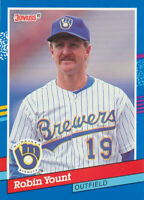 Robin Yount 1991 Donruss #272 Milwaukee Brewers baseball card