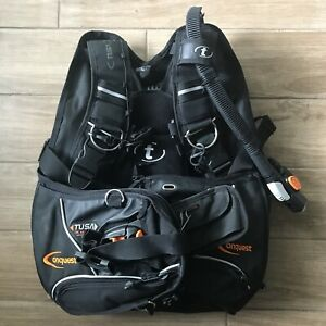 Tusa Conquest BCD Jacket Size Medium/Large Advanced Weight Loading System