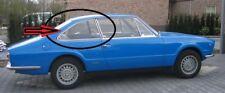 """Fiat 124 Coupè Vignale """"Eveline"""" - Vetro Laterale Originale Usato - Post. Destro"""