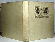 Merry Wives of Windsor Shakespeare, signed Hugh Thomson Vellum Illustrated #265