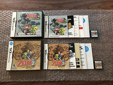 The Legend of Zelda Phantom Hourglass + Spirit Tracks (DS) Authentic - Complete