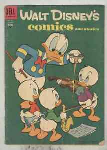 Walt Disney's Comics and Stories #172 January 1955 G/VG Barks Uncle Scrooge