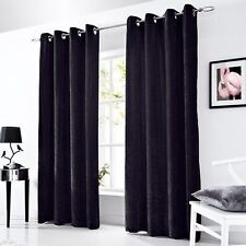 Ideal Textiles Chenille Modern Curtains & Blinds