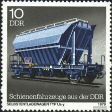 DDR 2415I, B in SELBSTENTLADEWAGEN gebrochen gestempelt 1979 Schienenfahrzeuge