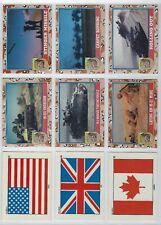 1991 Topps Desert Storm Series 2 complete set + sticker set