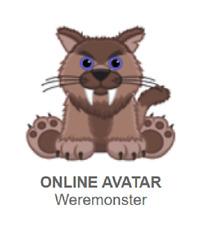 Webkinz Classic Weremonster *Code Only*