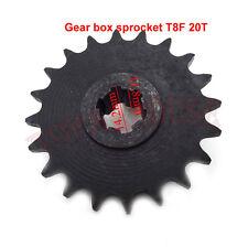 T8F 20 T Front Pinion Sprocket For43cc 47cc 49cc Mini Dirt Bike Clutch Gear Box