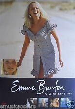 "EMMA BUNTON ""A GIRL LIKE ME"" AUSTRALIAN PROMO POSTER - Baby, Spice Girls"