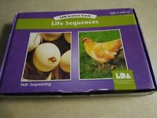 Life Cycle Sequencing Cards, Vintage 1988/ 40 Cards,school/ homeschool, w. Tchr