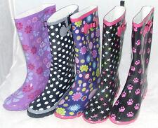 Unbranded Wellington Buckle Rubber Women's Boots
