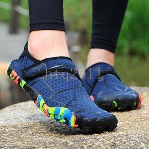 Womens Water Sports Shoes Quick-Dry Barefoot Swim Diving Surf Aqua Pool Beach