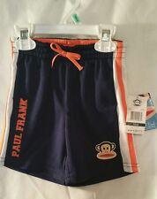 Boys Shorts Workout 18M Paul Frank Kid Childrens Clothes Navy Blue Orange Monkey