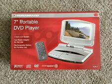 *NEW* Durabrand Portable DVD Player With 7 Inch Screen, Model DUR-7