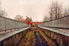 PHOTO  1993 BRIDGE TO HOLLY BANK COLLIERY THE RAILWAY WHICH SERVED HILTON MAIN A