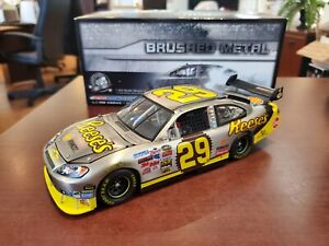 Rare 2009 Kevin Harvick #29 Reese's Brushed Metal 1:24 NASCAR Action MIB 1/192