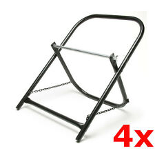 4 Pack Lot Portable Steel Folding Cable Caddy Reel Spool Holder Tube Wire Puller