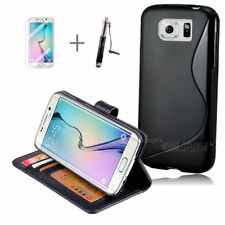 Unbranded/Generic Synthetic Leather Mobile Phone Cases, Covers & Skins for Samsung with Clip
