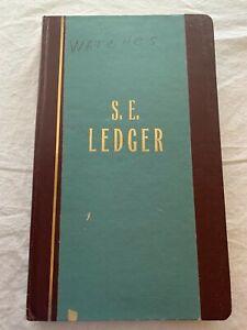 Vintage S.E. Ledger Wilson Jones Account Book S300 Unused 300 Pages